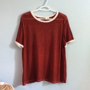 F21 Red T-shirt